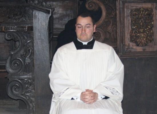 Domani sarà ordinato accolito il giovane seminarista Pietro d'Alba
