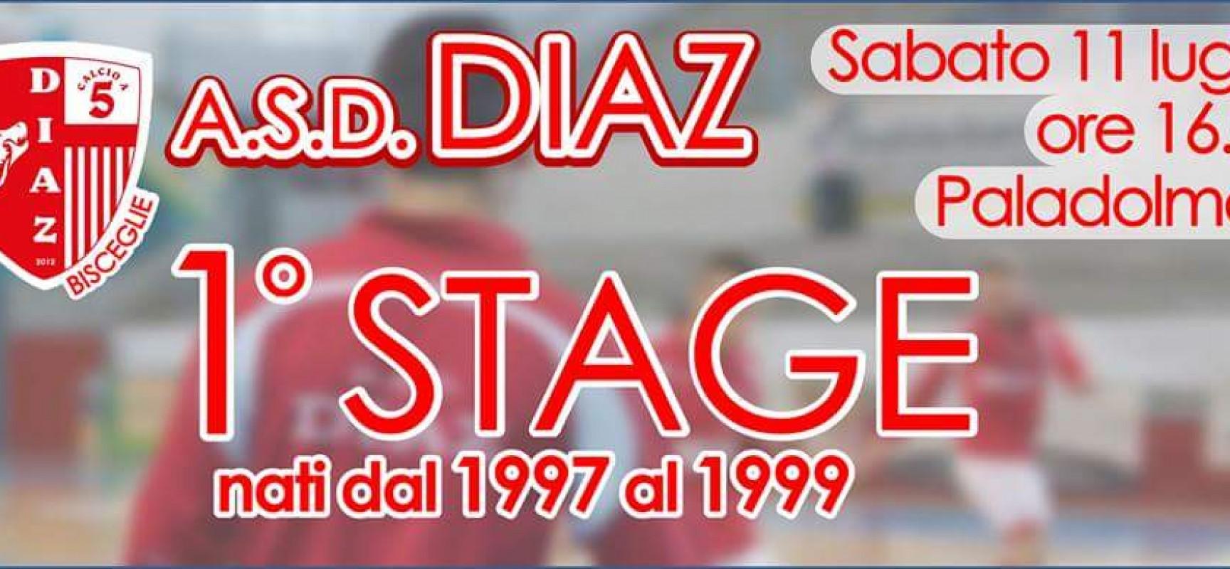 Sabato 11 luglio c'è il 1° stage della Diaz C5