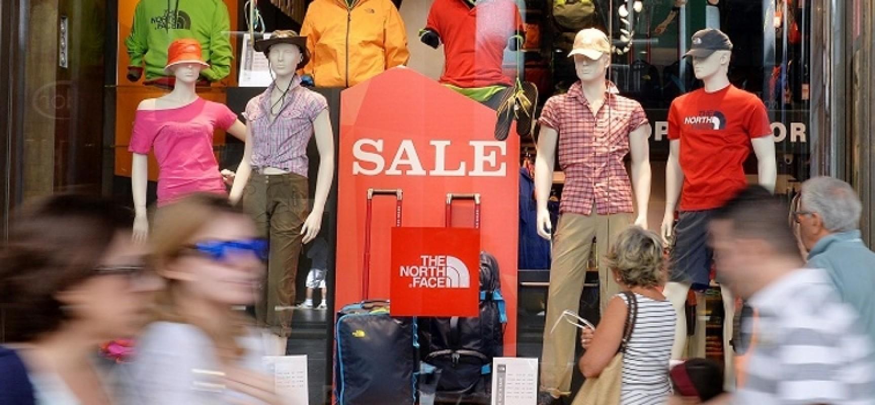 """Saldi a Bisceglie: Confcommercio: """"Hanno perso appeal, avvio tiepido"""""""