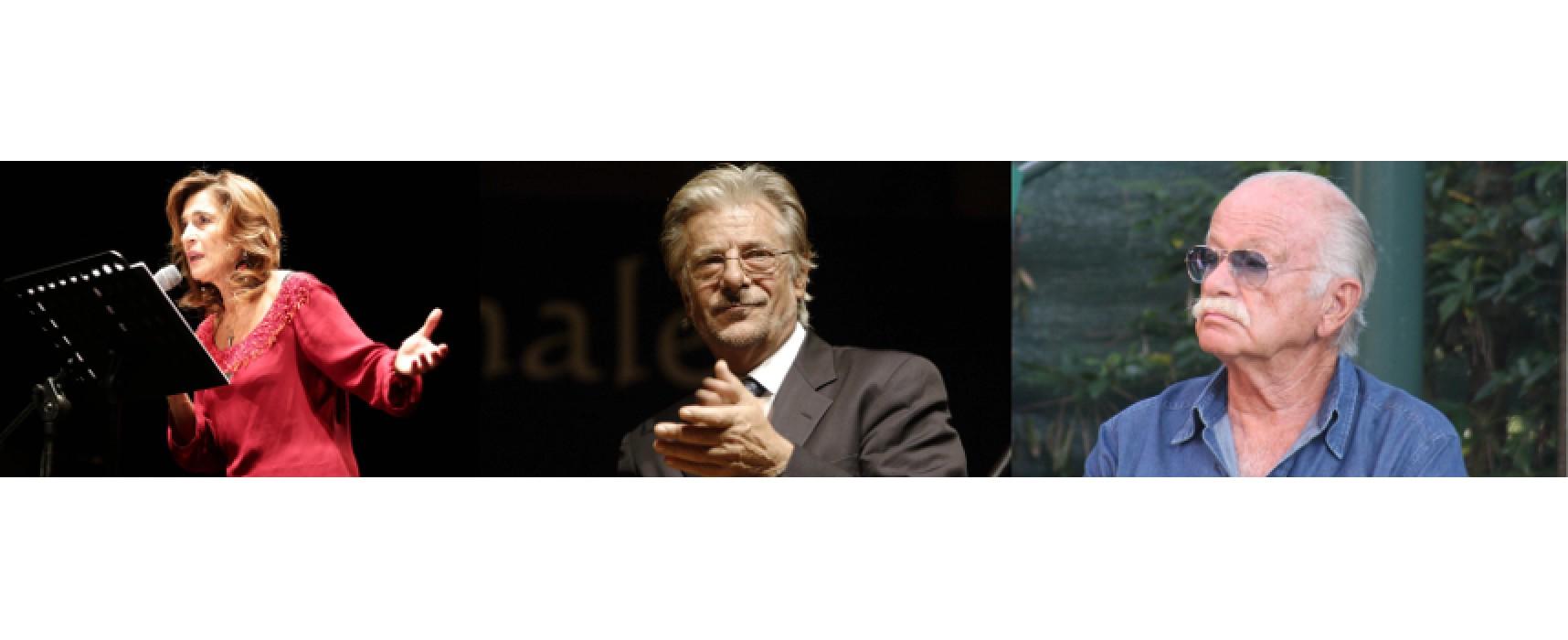Il CineDolmenFest 2015 ospita tre artisti di spessore: Lina Sastri, Giancarlo Giannini e Gino Paoli