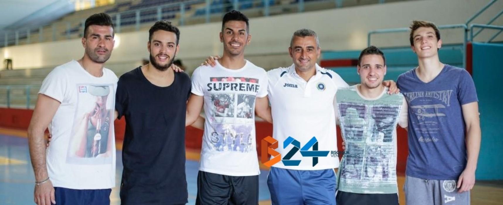 Il Futsal Bisceglie si è radunato, da oggi si lavora/FOTO
