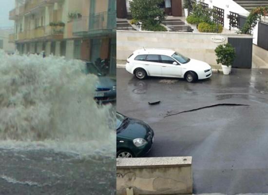 Scantinati allagati, sottovia bloccati, strade impraticabili: i disagi del maltempo / FOTO