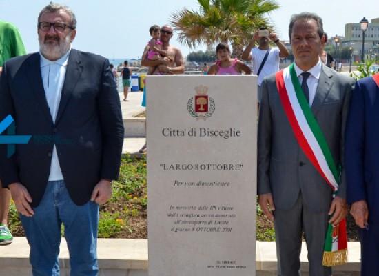 Largo 8 Ottobre 2001 in memoria delle vittime di Linate, il ricordo di Pasquale Padovano / FOTO