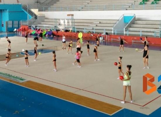 A Bisceglie collegiale di ginnastica ritmica organizzato dall'Iris