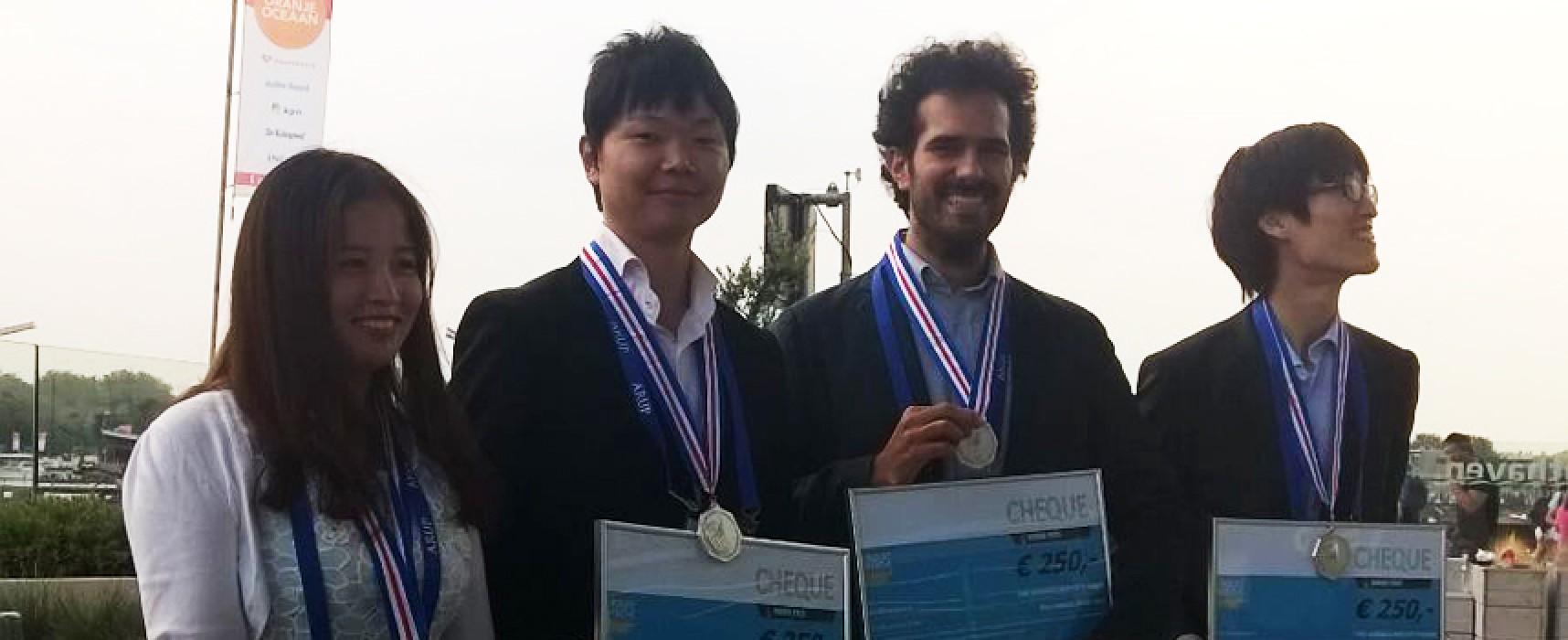 Il giovane ingegnere Leonardo Todisco ha ricevuto il prestigioso premio internazionale Hangai