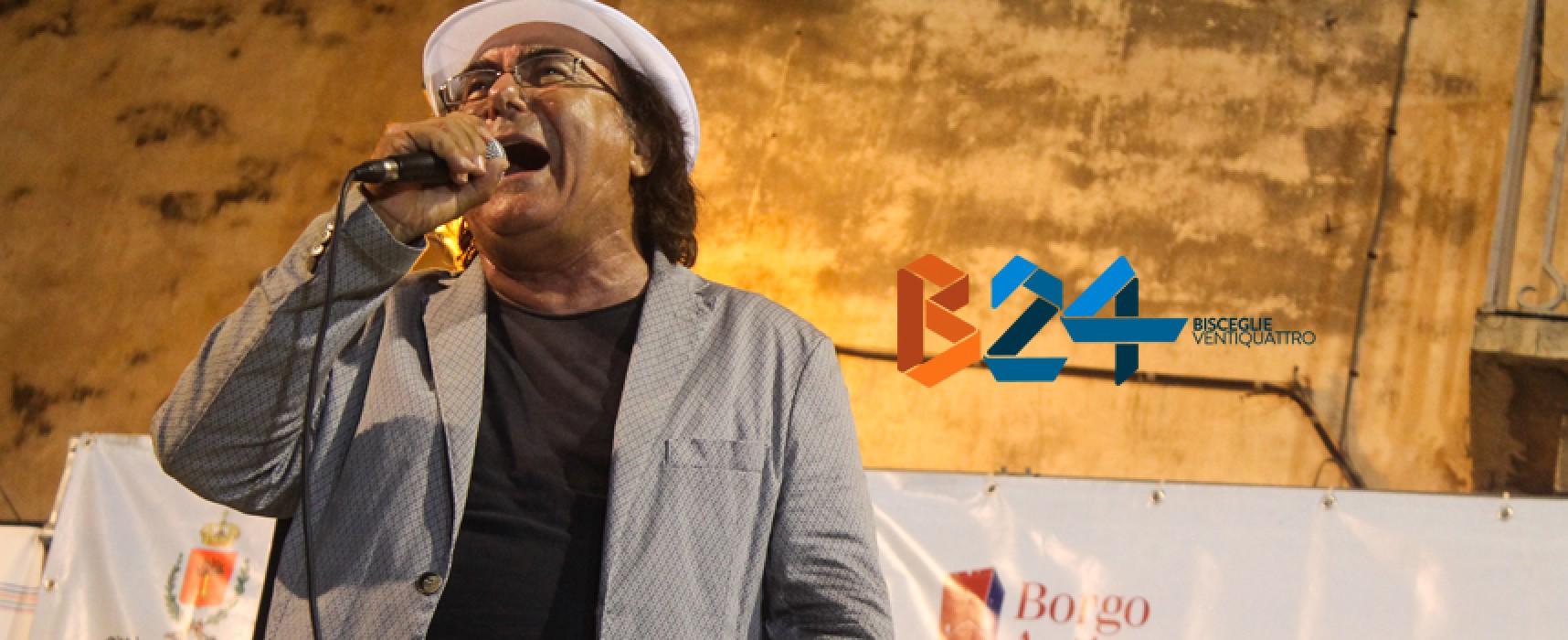 Al Bano canta a Libri nel Borgo Antico, il VIDEO INTEGRALE della performance