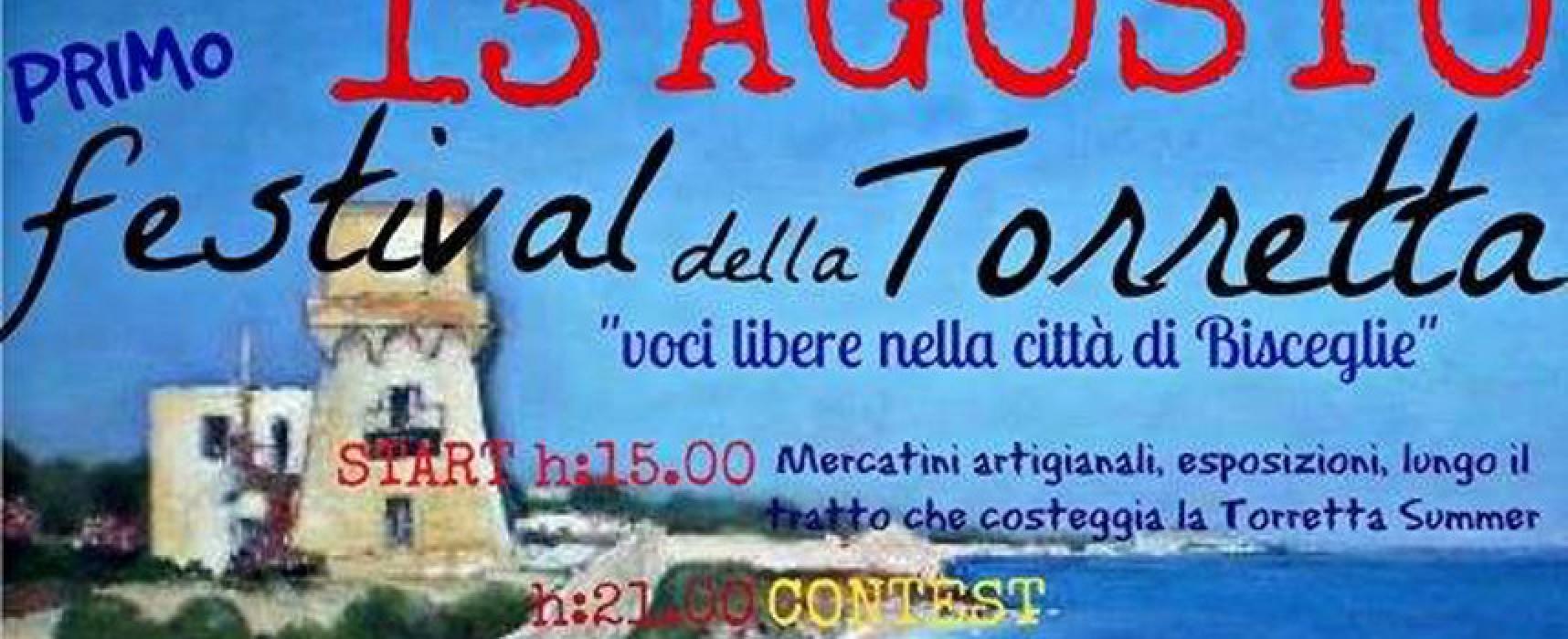 Prima edizione del festival della torretta, contest musicale con ben sei band in gara