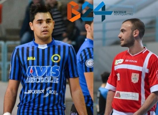 Il Futsal Bisceglie cede a titolo definitivo Pereira e Russo
