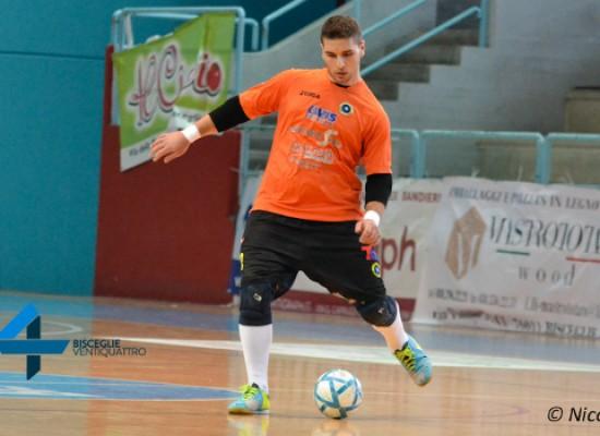 Il Futsal Bisceglie cede in prestito Sinigaglia al Futsal Canosa