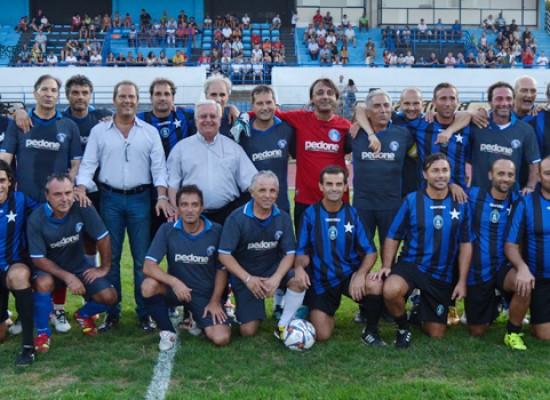 "Festa del calcio solidale, beneficenza ed amarcord al ""Ventura""/ VIDEO e FOTO"