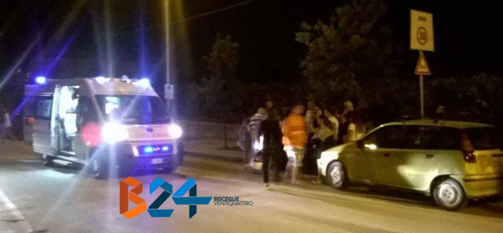 Via Fragata, giovane in Vespa cade e finisce al pronto soccorso: in quel tratto strada scivolosa per pioggia e lavori