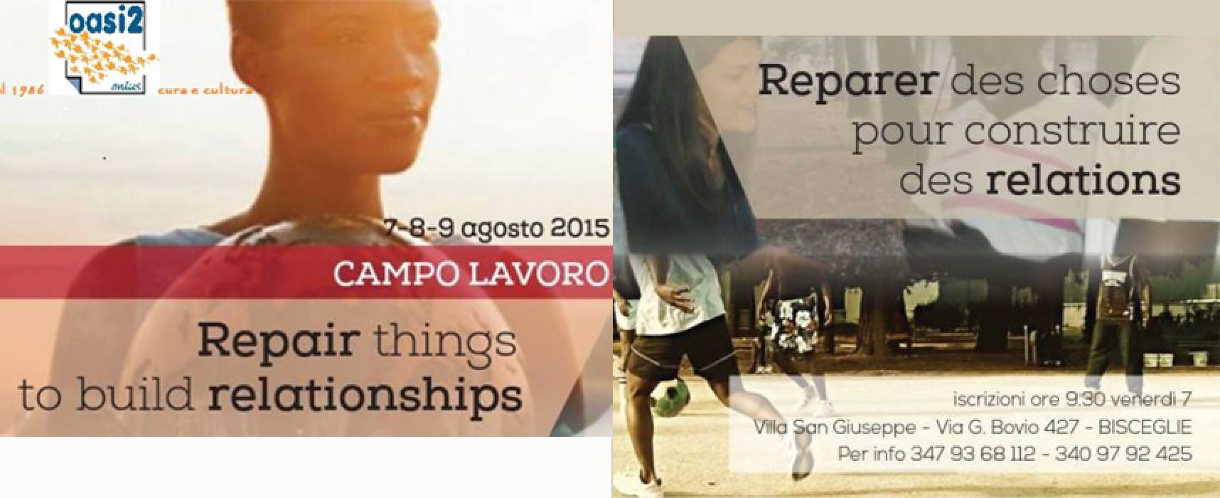 """Al via """"Riparare cose, costruire relazioni"""" a Villa San Giuseppe: partecipazione aperta a tutti"""
