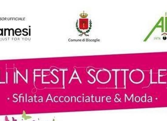 """""""Capelli in festa sotto le stelle"""", acconciature per la solidarietà al Teatro Mediterraneo"""