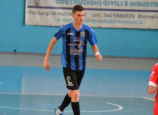 Cesare Pedone passa dal Futsal Bisceglie alla Diaz