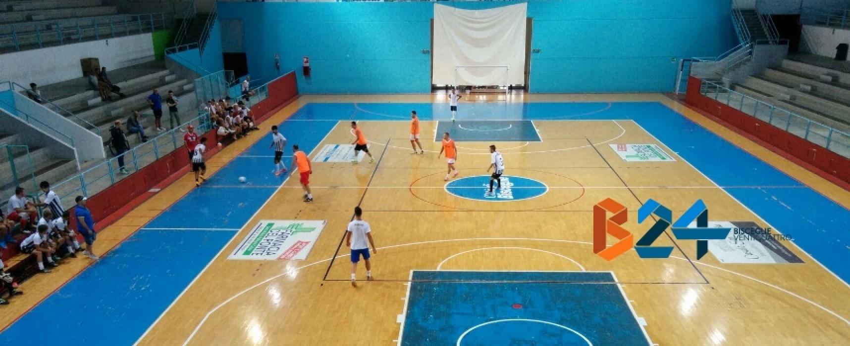 Diaz: stop in amichevole contro il Bisceglie Futsal Club