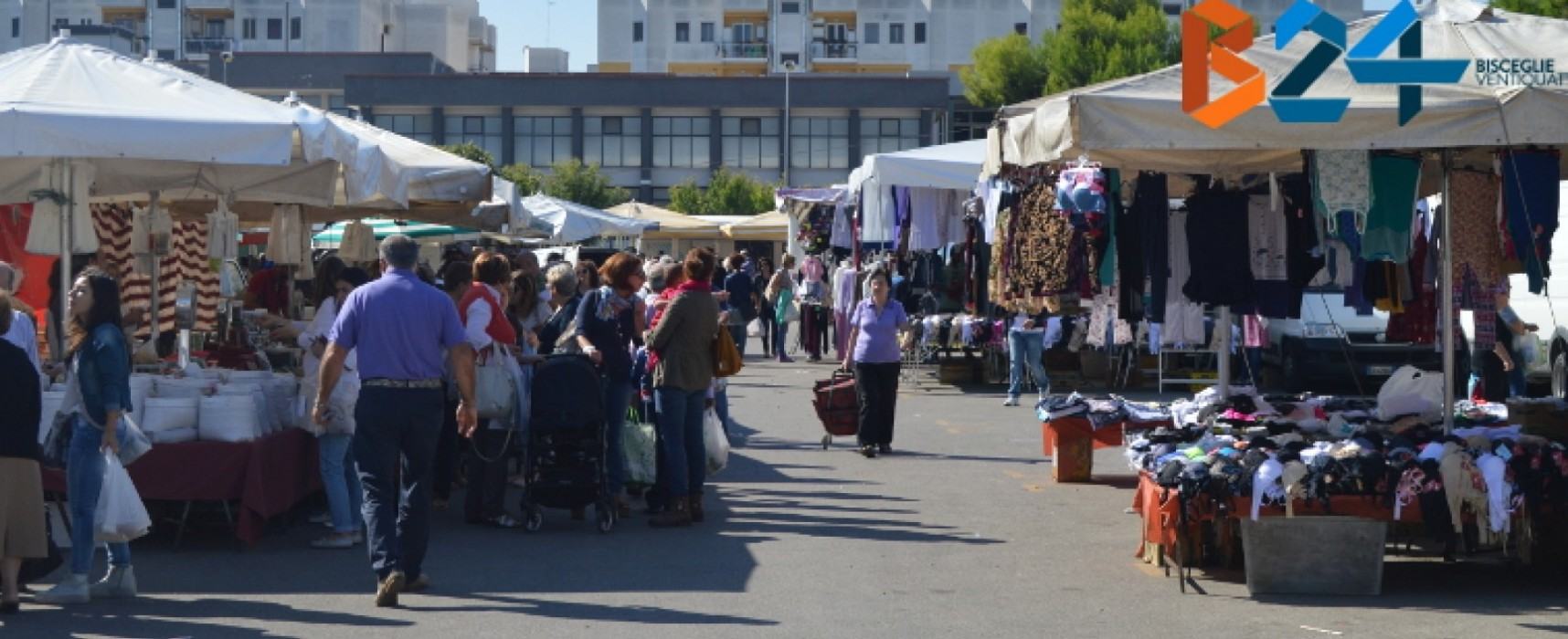 Martedì 11 agosto il mercato settimanale si svolgerà di pomeriggio e sera