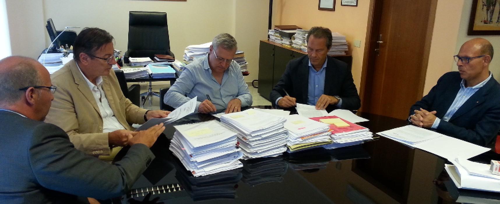 Firmata convenzione tra Asl e Provincia Bat per l'inserimento lavorativo dei soggetti disabili