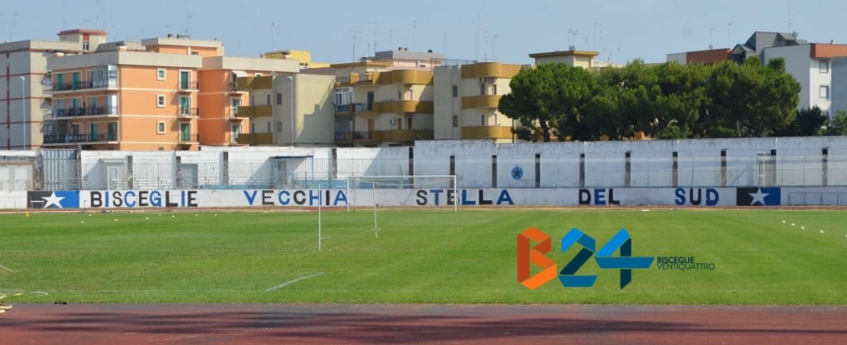 Bisceglie-Lecce a porte chiuse per criticità strutturali dello stadio Gustavo Ventura