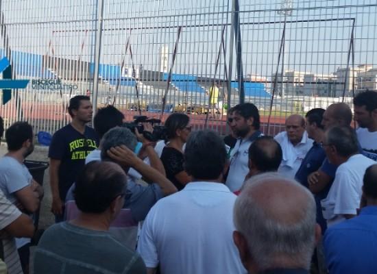 """Il Bisceglie ed i suoi tifosi si oppongono all'utilizzo del """"Ventura"""" da parte dell'Unione Calcio"""