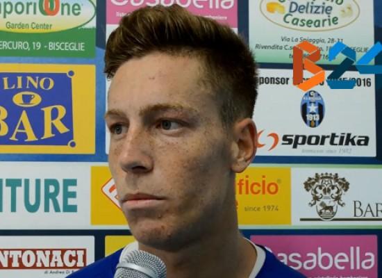 Balzano presenta il match del Bisceglie Calcio a Nardò/VIDEO