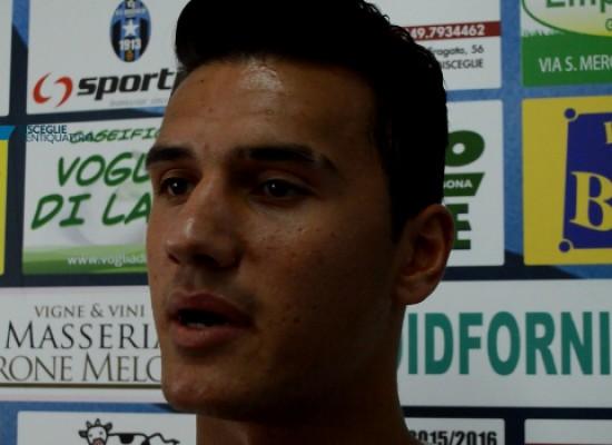Bisceglie Calcio, Vicino è pronto per la partita con il Taranto / VIDEO