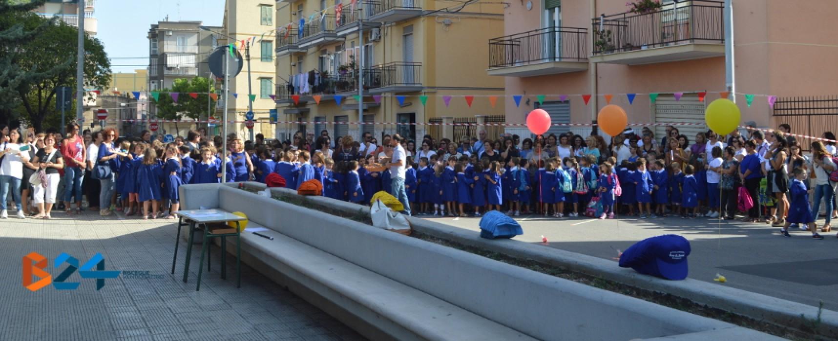 """Primo giorno di scuola, festa dell'accoglienza stamani alla """"San Giovanni Bosco""""/VIDEO"""