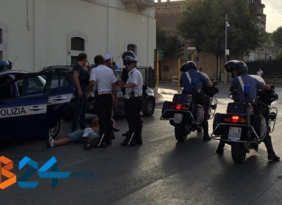 Scontri nel post gara di Bisceglie – Taranto /VIDEO