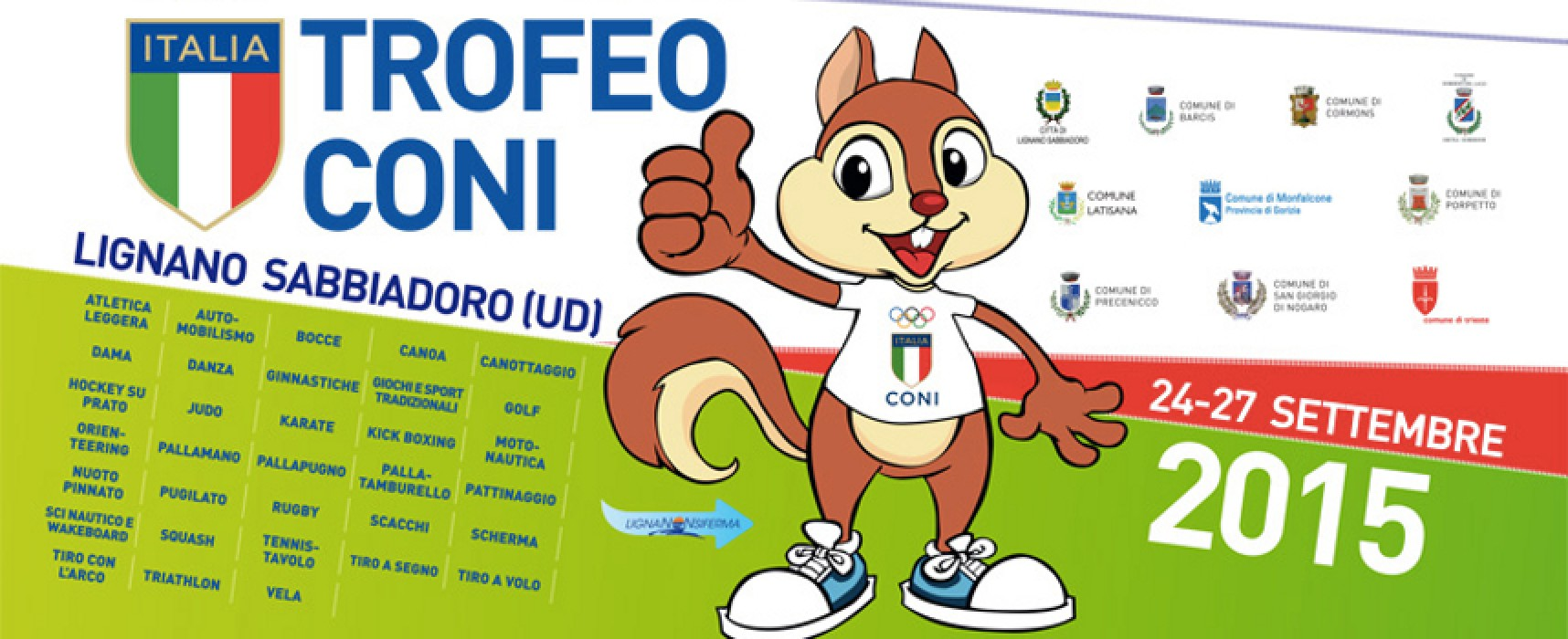L'Iris rappresenterà la Puglia al Trofeo CONI 2015