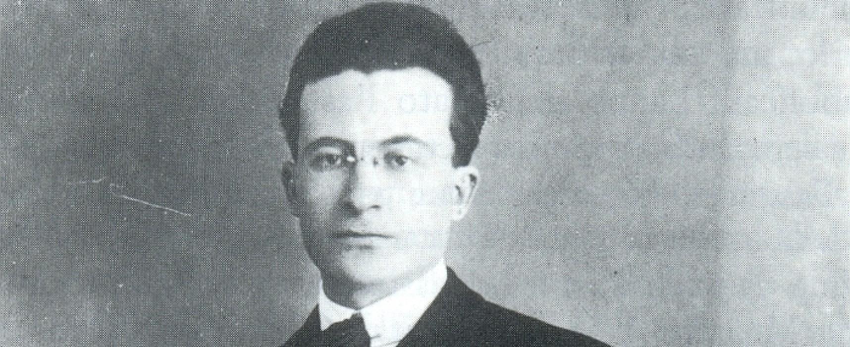 Costituito a Bisceglie un comitato provvisorio per onorare la memoria di Vincenzo Calace