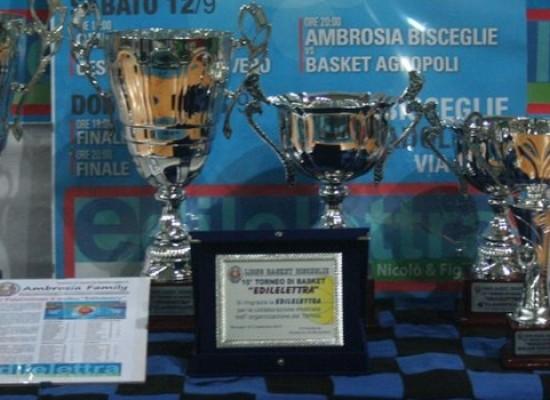 Trofeo Edilelettra: Ambrosia sconfitta in finale da San Severo/FOTO