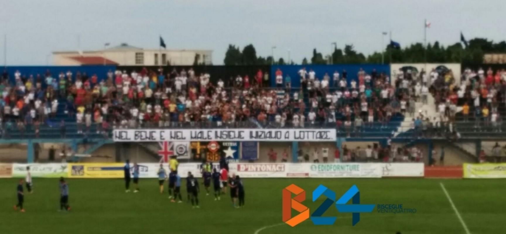 Il Bisceglie fa festa all'esordio trascinato da Volpicelli, 4-0 al Potenza