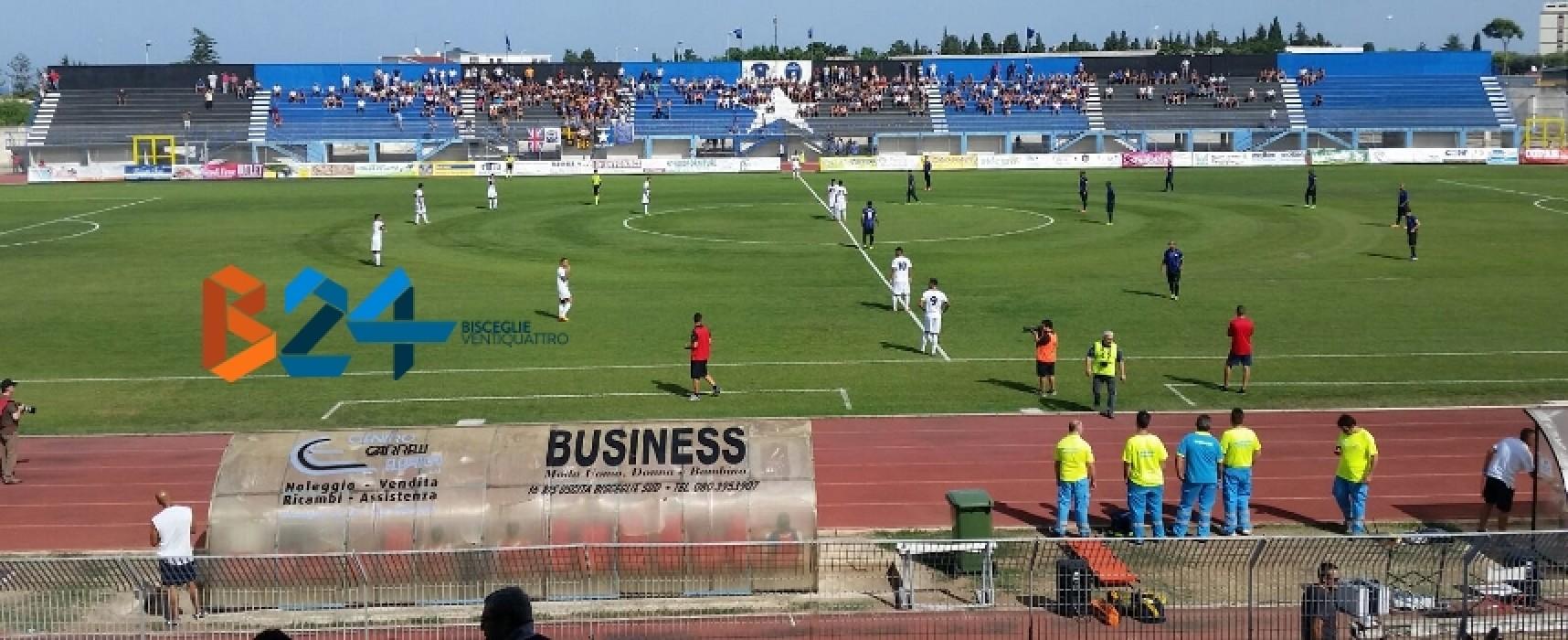 Grande vittoria per il Bisceglie Calcio, sconfitto 2-1 il Taranto