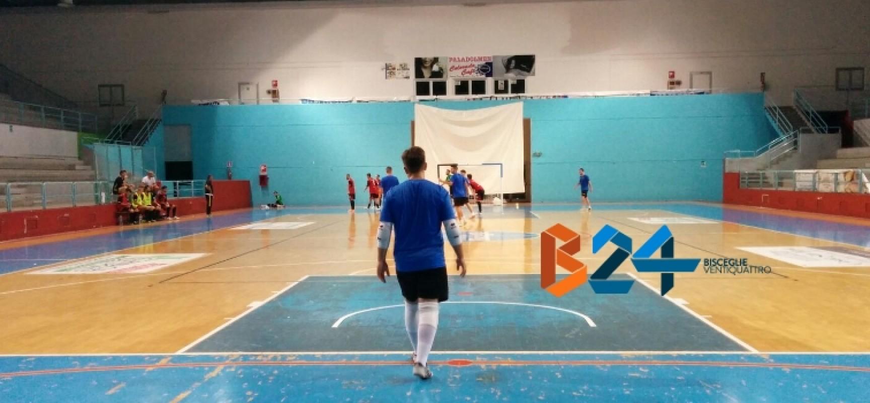 Futsal Bisceglie, oggi secondo test amichevole al PalaDolmen