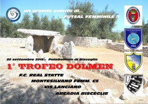 locandina 1° trofeo dolmen