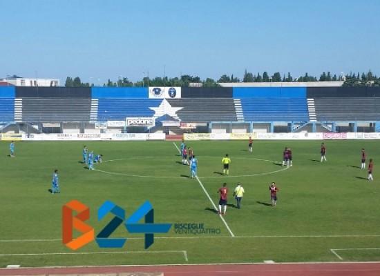 Unione Calcio sconfitta 3-2 dalla Vigor Trani all'esordio in campionato