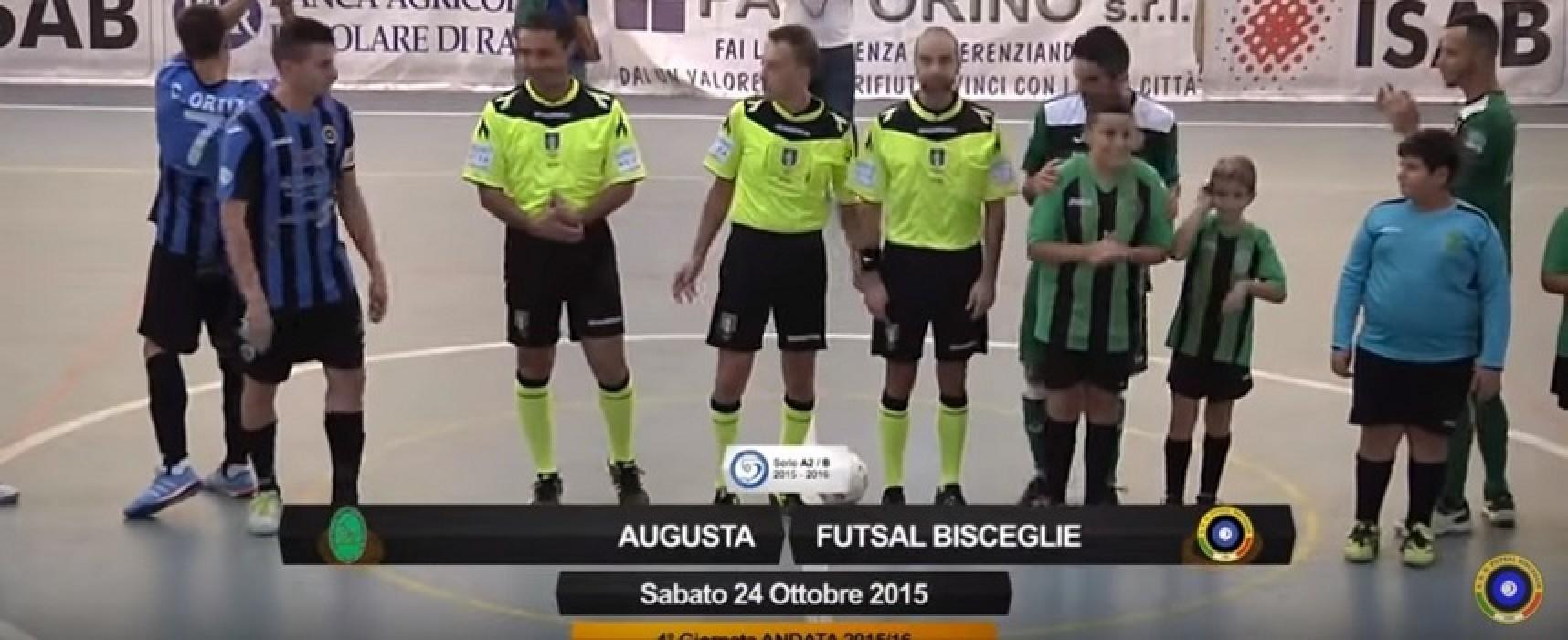 Augusta-Futsal Bisceglie/ VIDEO HIGHLIGHTS