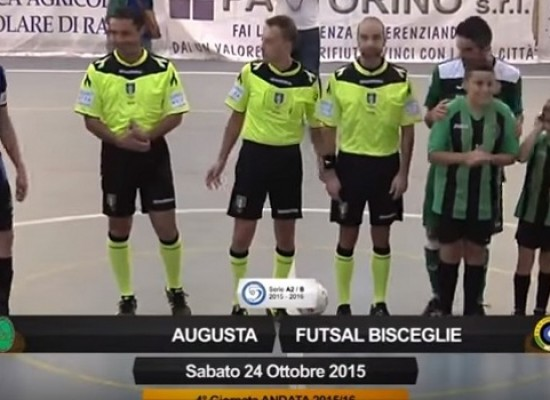 Augusta-Futsal Bisceglie/ VIDEO HIGHLIGHTS