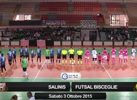 Salinis-Futsal Bisceglie 3-5/ VIDEO HIGHLIGHTS
