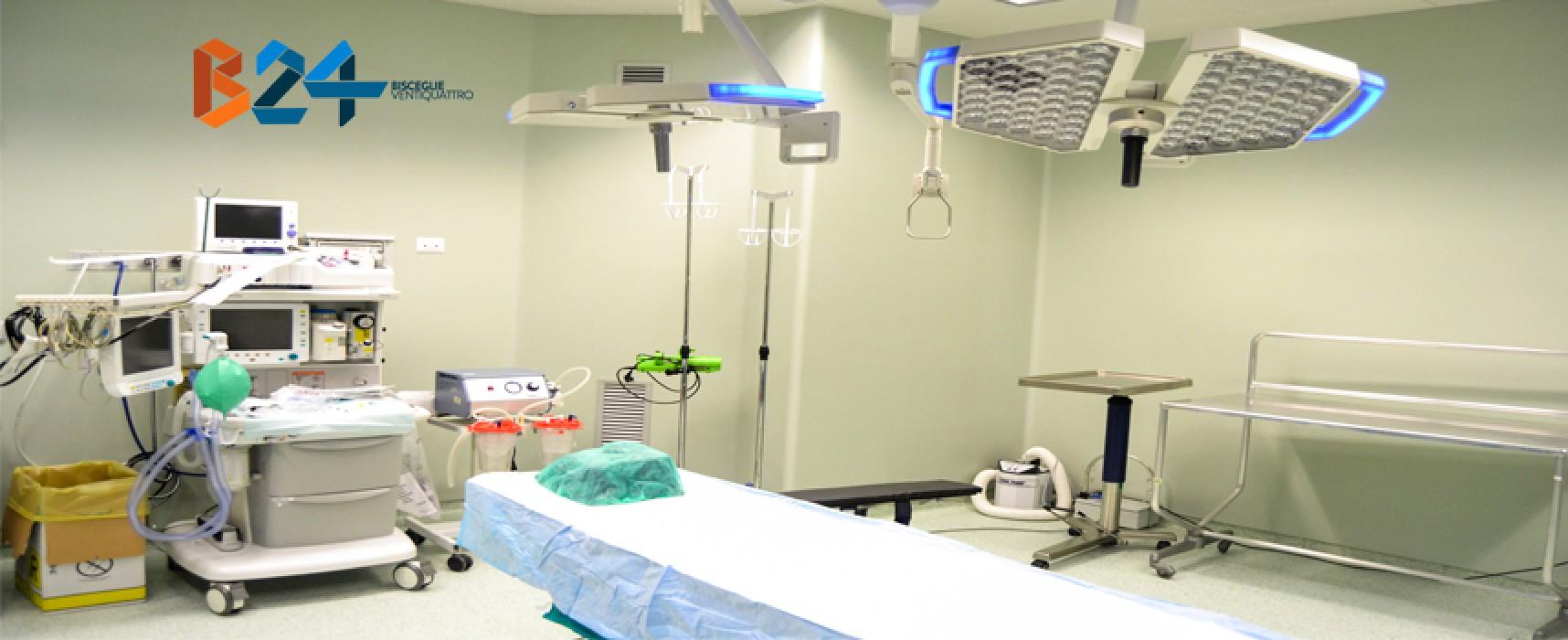 Presentate stamane le nuove sale operatorie dell'ospedale di Bisceglie / FOTO