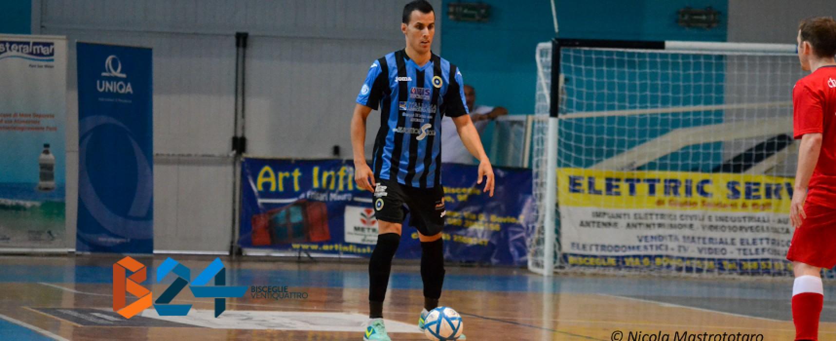 Futsal Bisceglie pazzesca vittoria all'ultimo respiro / CLASSIFICA