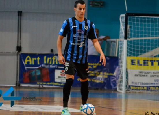 Tegola Futsal Bisceglie: Sanchez operato all'orecchio, salta Catanzaro