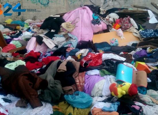 Raccolta differenziata porta a porta dei rifiuti tessili per le aziende