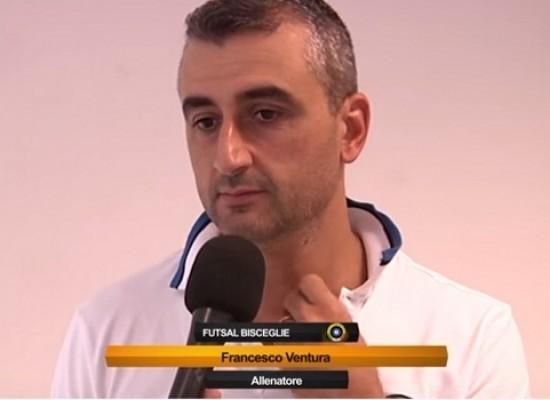 """Futsal Bisceglie, mister Ventura: """"La squadra ha grossi margini di miglioramento""""/VIDEO"""