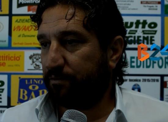 Bisceglie calcio: stasera incontro tra l'acquirente Vincenzo Longo e Spina/VIDEO
