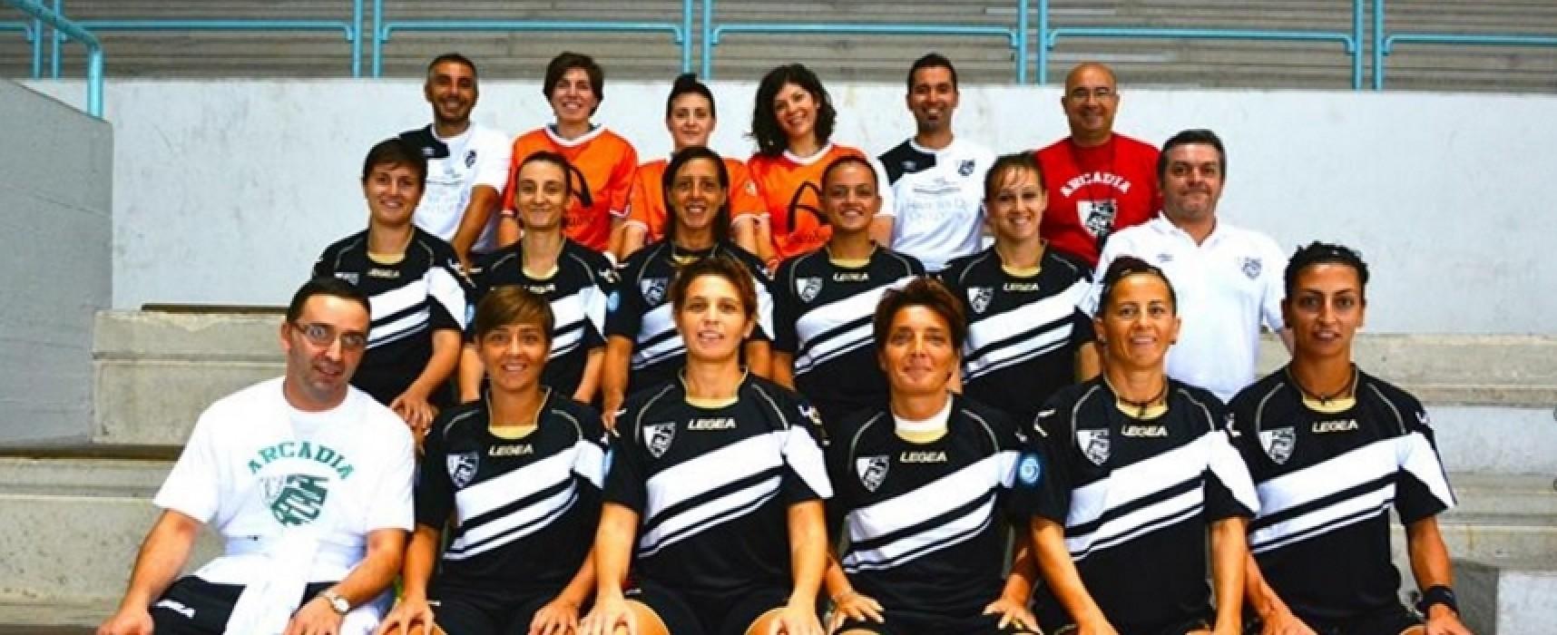 Calcio a 5: serie A Femminile, domani c'è Arcadia-Futsal P5