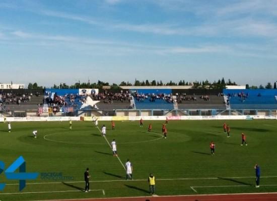 Bisceglie calcio, le reti di Patierno e Palazzo regalano il successo sul Fondi/CLASSIFICA