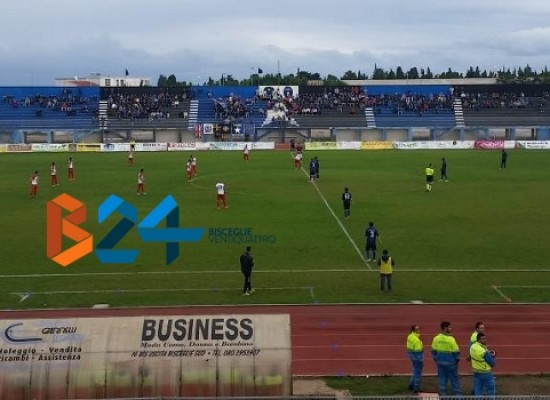 Il Bisceglie Calcio rialza la testa battendo 1-0 il Francavilla/CLASSIFICA