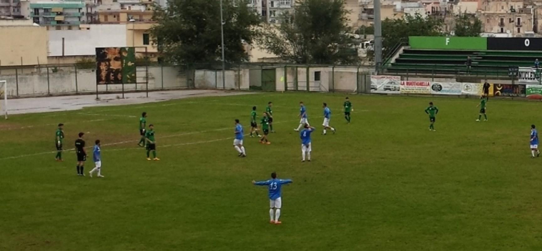 Coppa Italia, il pareggio tra Bitonto e Unione Calcio matura nel finale