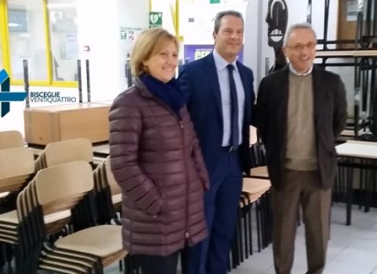Provincia BAT, consegnati gli arredi scolastici alle scuole superiori di Bisceglie
