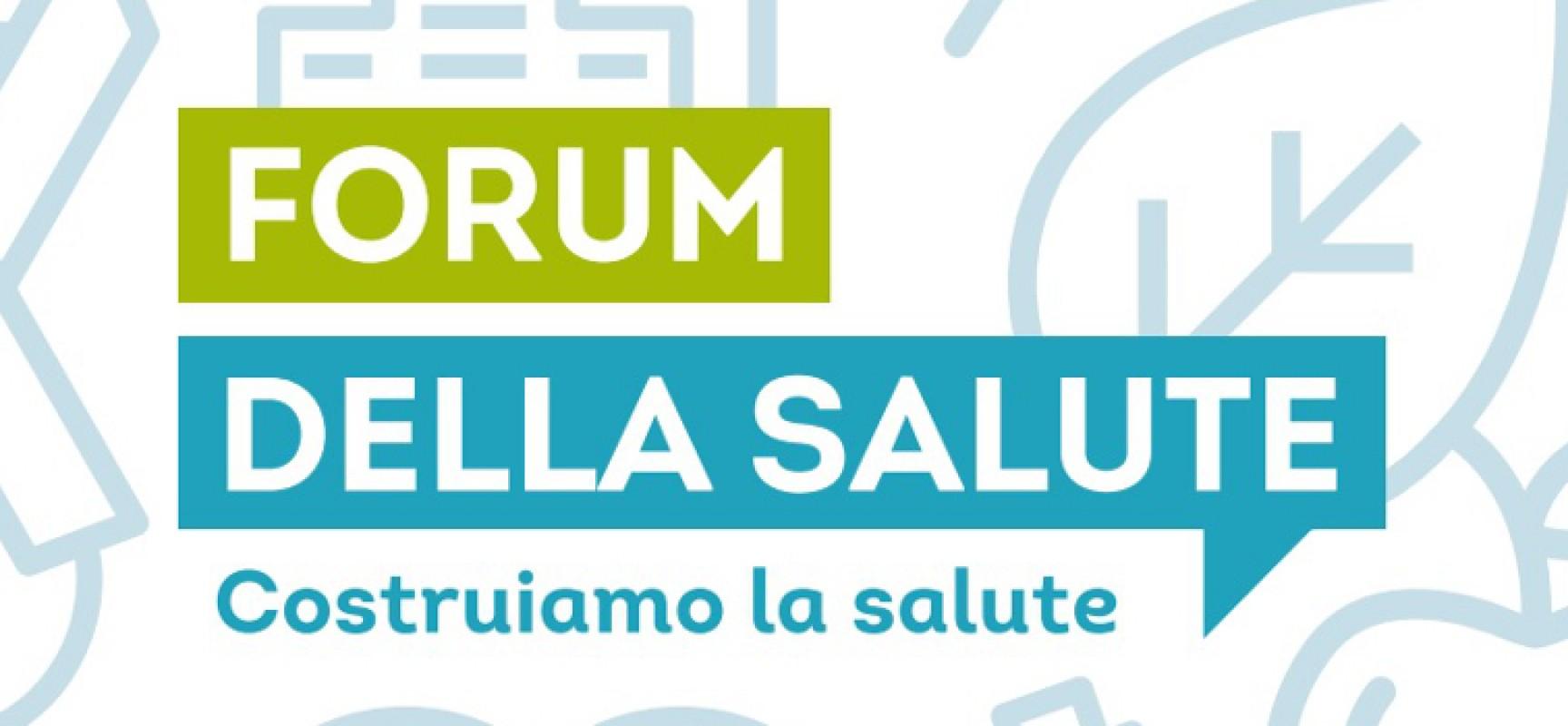 Salute, alimentazione, giovani e movimento. Parte il Forum della Salute dell'Asl Bat / PROGRAMMA